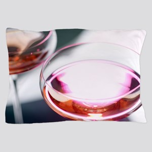 Champagne cocktail drink Pillow Case