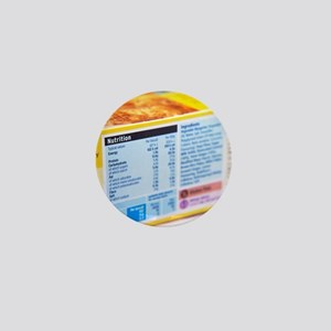 Nutrition label Mini Button