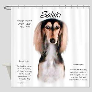Saluki Shower Curtain