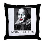 Avon Calling! Throw Pillow