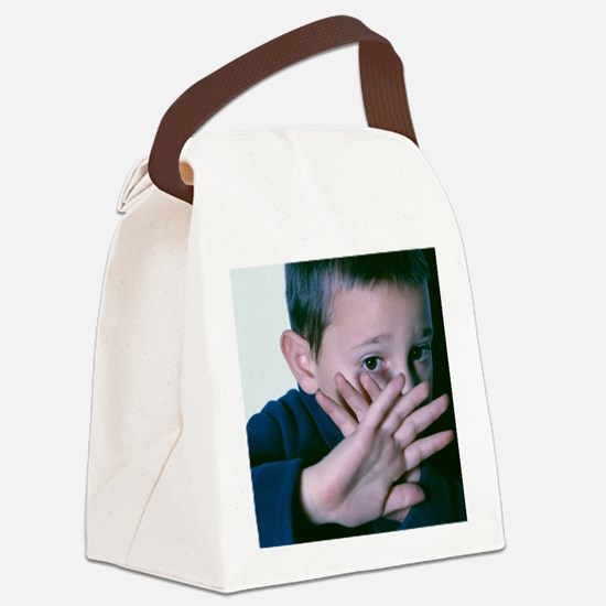 Child abuse Canvas Lunch Bag