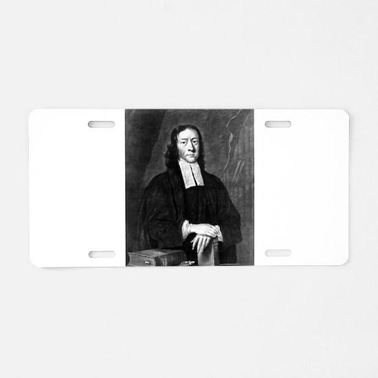 John Wesley M.H. - John Faber - c1745 Aluminum Lic