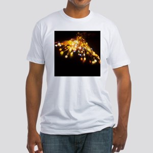 Optical fibres Fitted T-Shirt