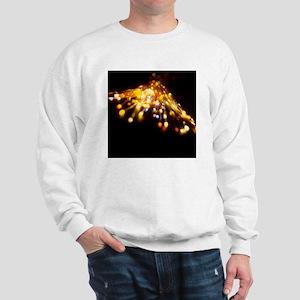 Optical fibres Sweatshirt