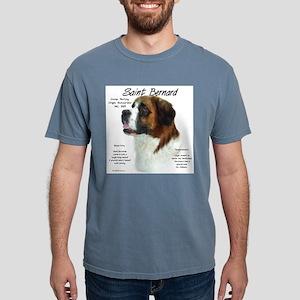 Saint Bernard (Rough) Mens Comfort Colors Shirt