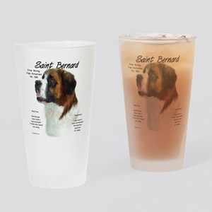 Saint Bernard (Rough) Drinking Glass