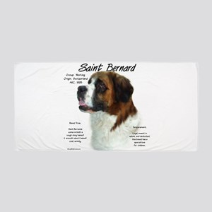 Saint Bernard (Rough) Beach Towel