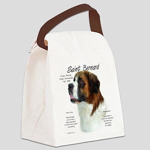 Saint Bernard (Rough) Canvas Lunch Bag