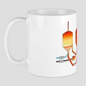 Oil refining process Mug