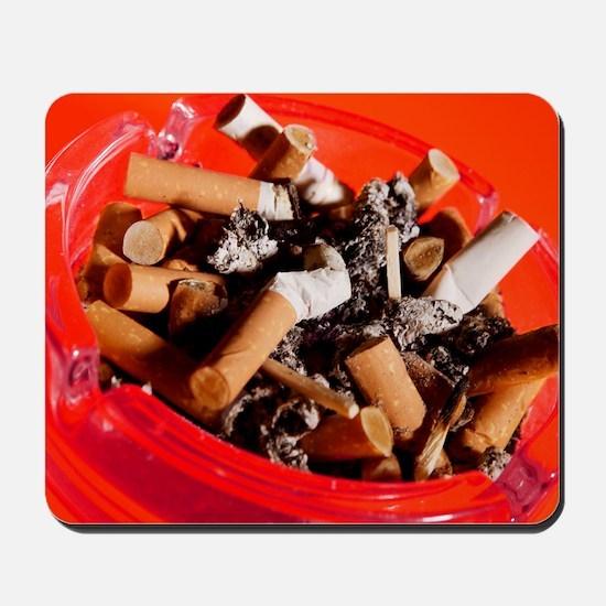 Cigarette butts Mousepad