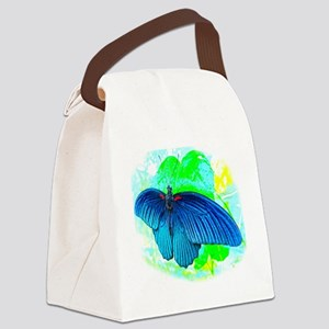 Great Mormon Butterfly Canvas Lunch Bag