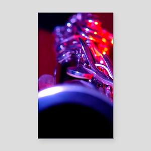 Clarinet Rectangle Car Magnet