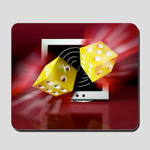Online gambling Mousepad