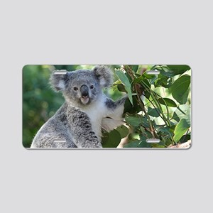 Cute koala  Aluminum License Plate