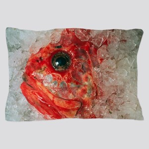 Orange Roughie packed in ice after bei Pillow Case