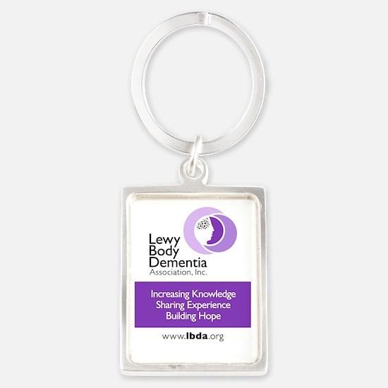 LBDA 2x3 Magnet Portrait Keychain