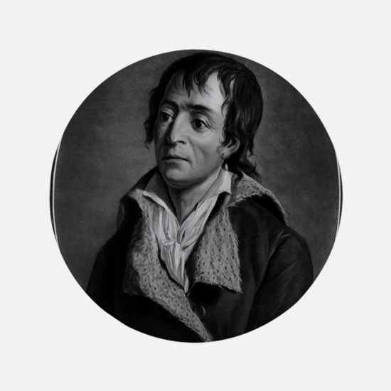 "Jean Paul Marat - Pierre-Michel Alix - 1793 3.5"" B"