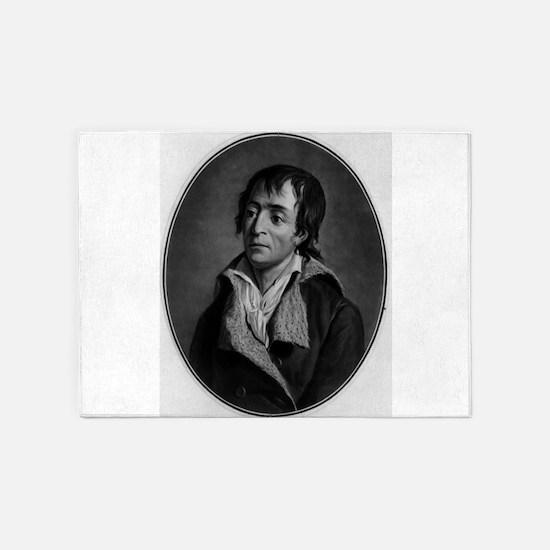 Jean Paul Marat - Pierre-Michel Alix - 1793 5'x7'A