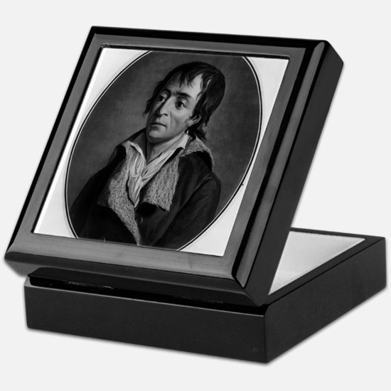Jean Paul Marat - Pierre-Michel Alix - 1793 Keepsa