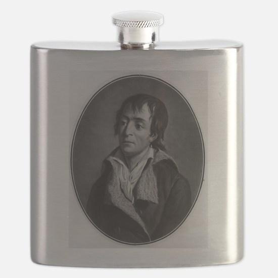 Jean Paul Marat - Pierre-Michel Alix - 1793 Flask