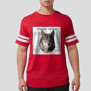 Swedish Valhund Mens Football Shirt