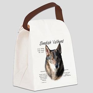Swedish Valhund Canvas Lunch Bag