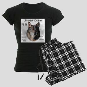 Swedish Valhund Women's Dark Pajamas
