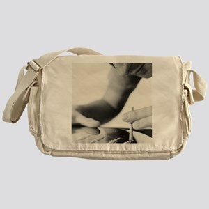 Cocaine taking Messenger Bag