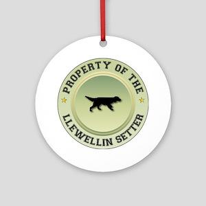 Llewellin Property Ornament (Round)