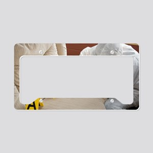 Collecting evidence License Plate Holder