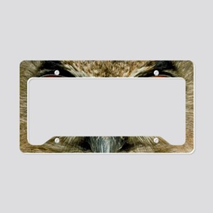 Owl's eyes License Plate Holder