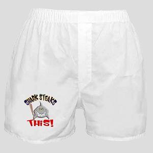 Shark Steaks This! Boxer Shorts