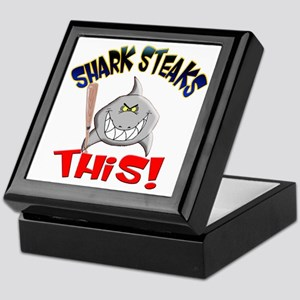 Shark Steaks This! Keepsake Box