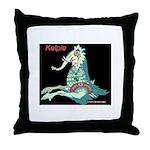 Cryptozoo Kelpie Throw Pillow