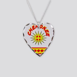 CHEROKEE INDIAN Necklace Heart Charm