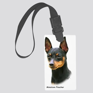 Miniature Pinscher 8A083-13 Large Luggage Tag
