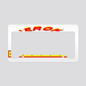 CHEROKEE INDIAN License Plate Holder