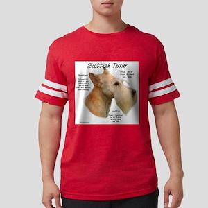 Scottie (Wheaten) Mens Football Shirt
