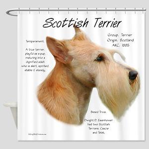 Scottie (Wheaten) Shower Curtain
