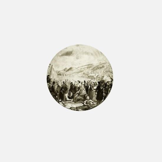 Irish fair - George Bellows - 1923 Mini Button