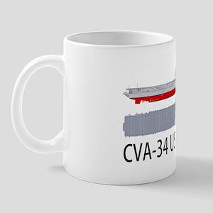 USS Oriskany CV-34 Mug