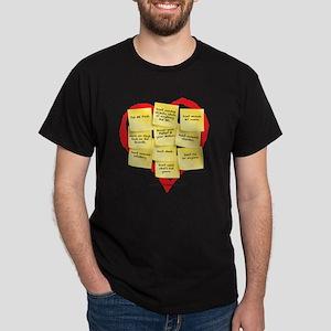 Ten Commandments Dark T-Shirt