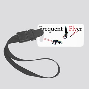 Frequent Flyer Small Luggage Tag