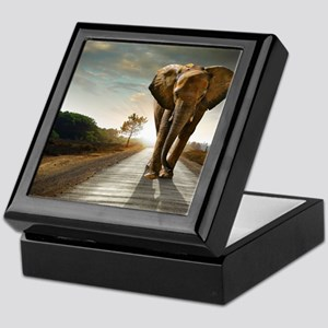 Big Elephant Keepsake Box