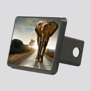 Big Elephant Rectangular Hitch Cover