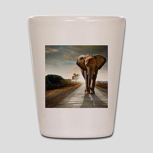 Big Elephant Shot Glass
