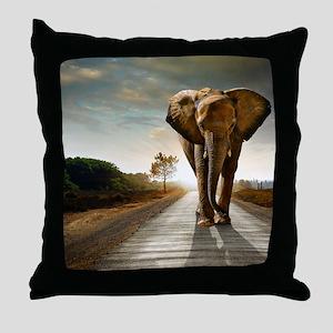 Big Elephant Throw Pillow