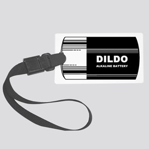 DILDO BATTERY - PARODY Large Luggage Tag
