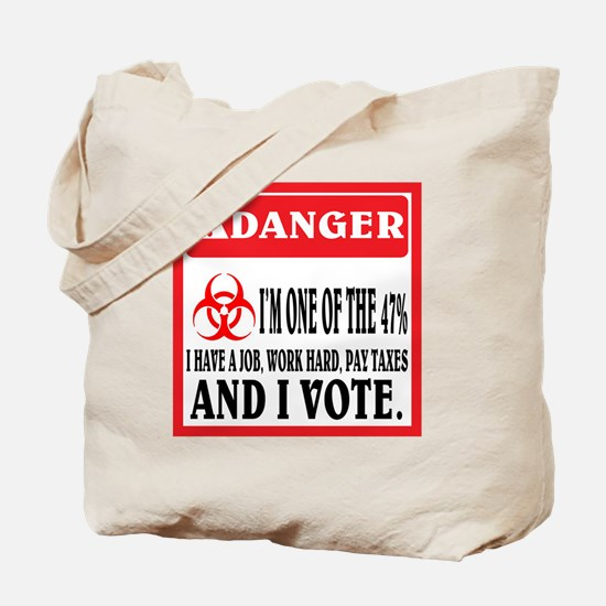 One of the 47%. Tote Bag