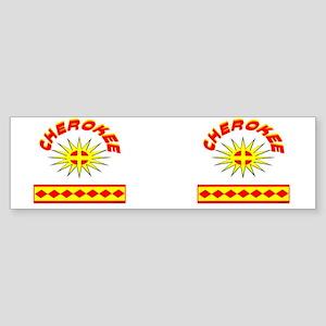CHEROKEE INDIAN Sticker (Bumper)